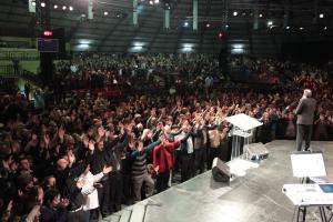 Pastor Andre ministering in South Africa